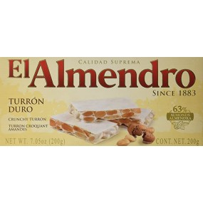 TURRON DURO EL ALMENDRO 200...